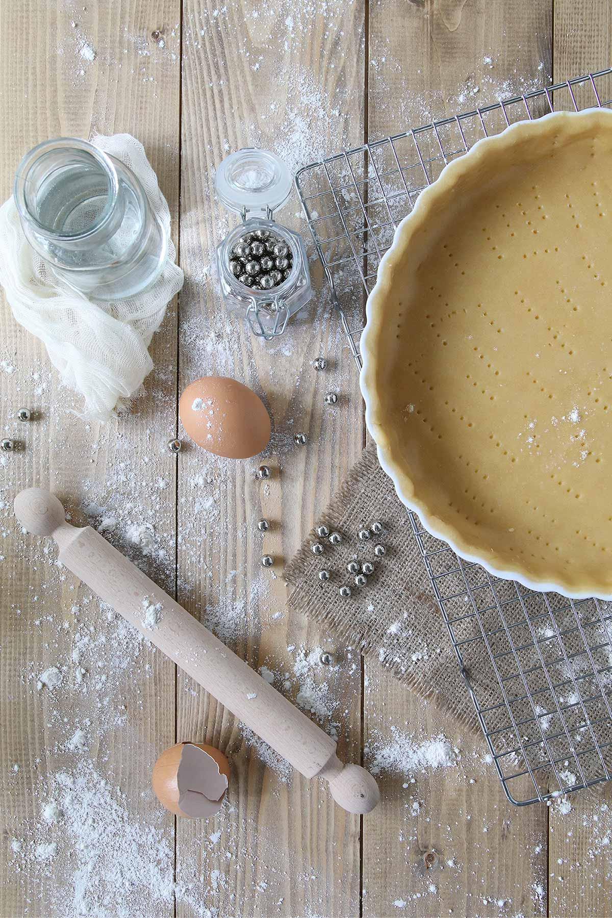 La recette de pâte brisée de Christophe Felder.