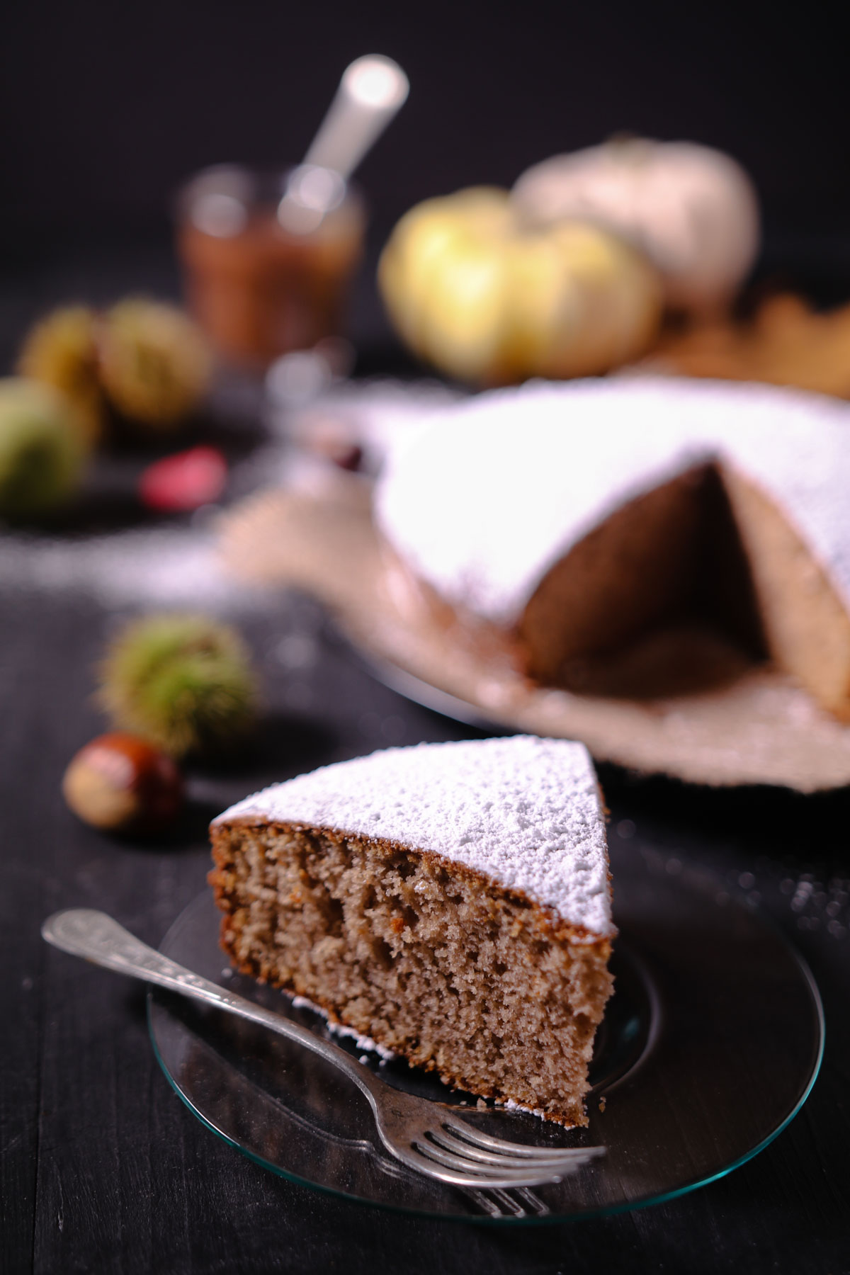 Ardéchois, un gâteau aux marrons