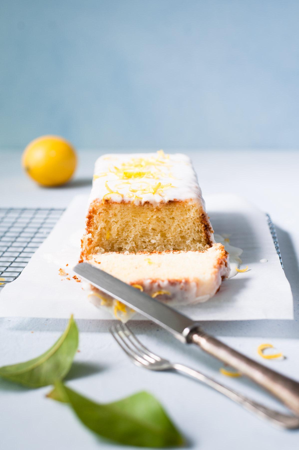Cake au citron hyper moelleux !