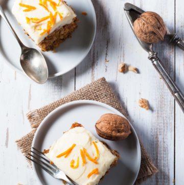 Cake au carottes (carrot cakes)