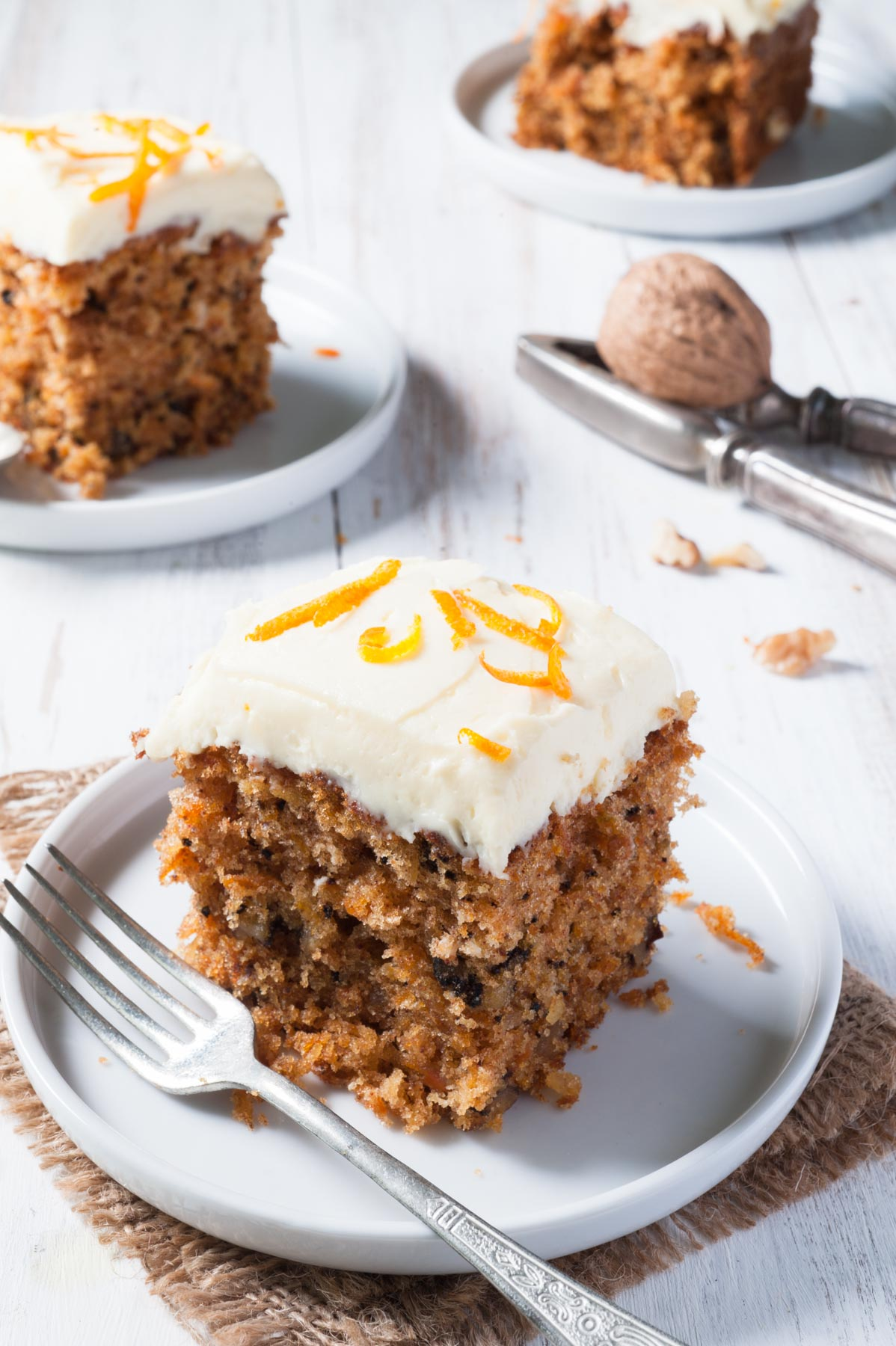 Carrot cake (cake aux carottes)