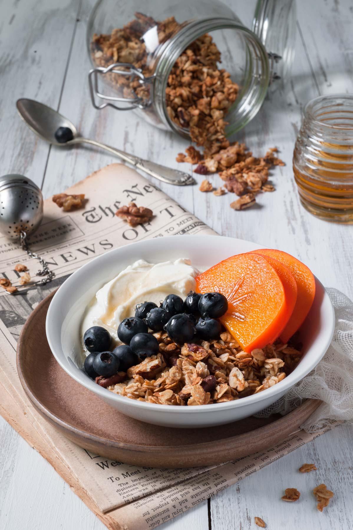 Granola maison, pour un petit déjeuner énergétique !