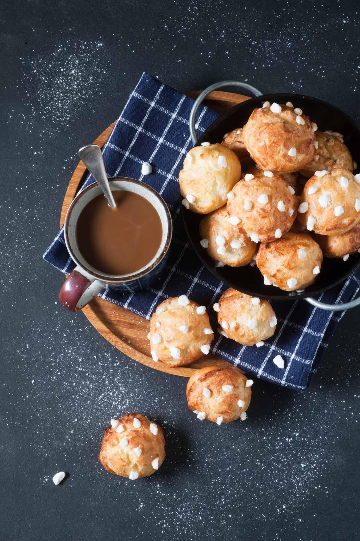 Chouquettes, la recette traditionnelle