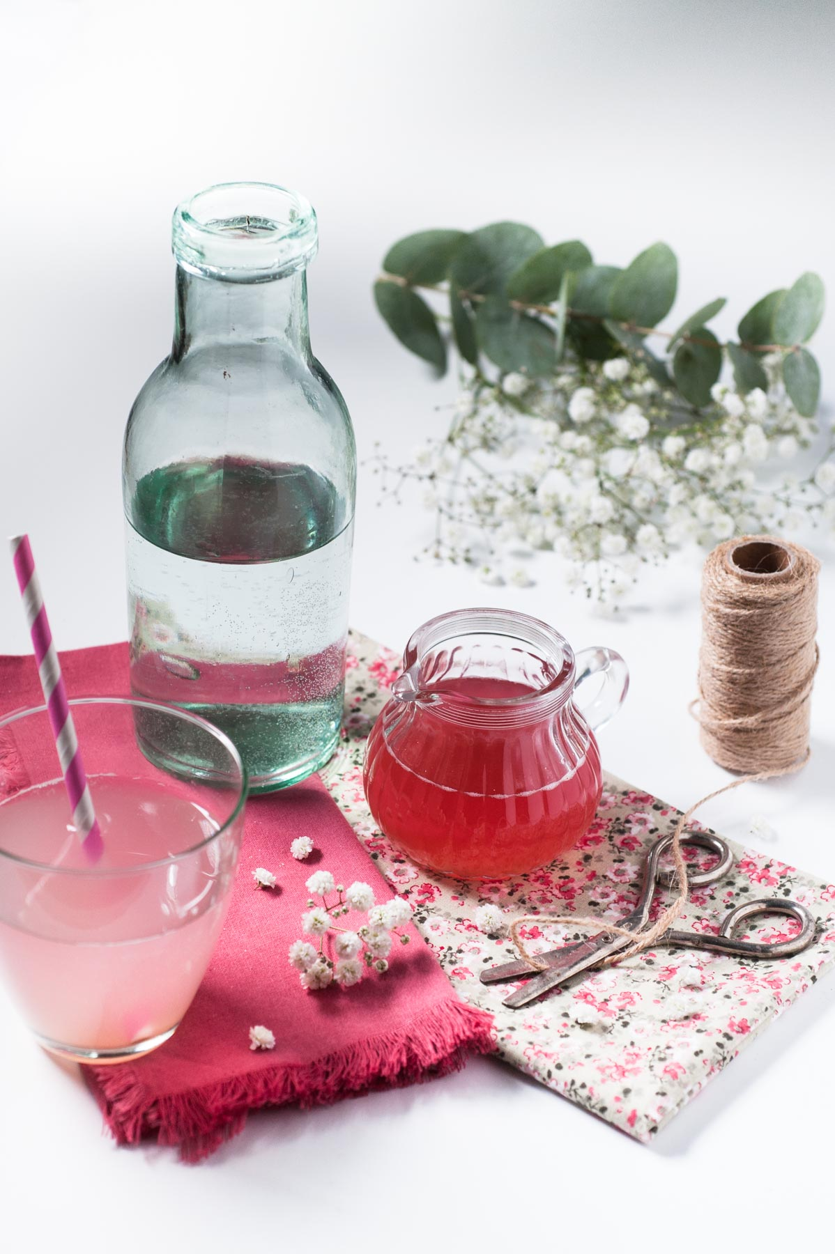 Sirop rhubarbe gingembre